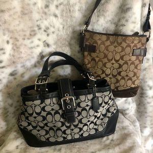 Coach hand bag bundle